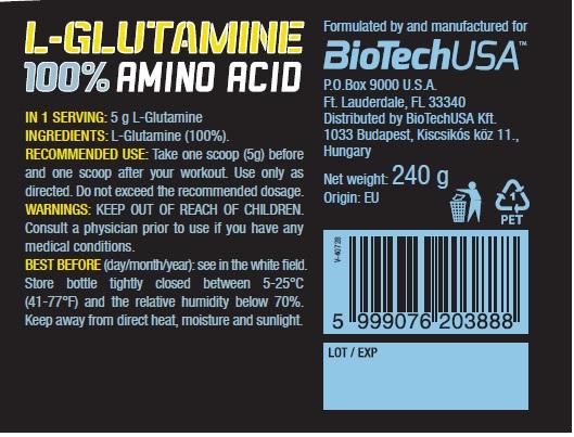 Glutamine 100%